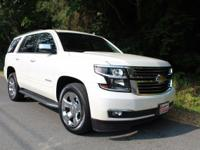 Clean CARFAX. White Diamond Tricoat 2015 Chevrolet