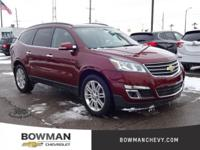 2015 TRAVERSE LT with Low Miles and Clean