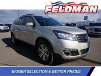 CARFAX One-Owner. Clean CARFAX. Chevrolet Traverse 2015