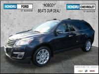 GM Certified 2015 Chevy Traverse AWD LT in Blue Velvet