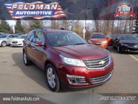 This 2015 Chevrolet Traverse LTZ... Features include: