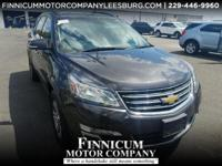Clean CARFAX. Tungsten Metallic 2015 Chevrolet Traverse