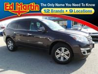 Close Out Price! 2015 Chevrolet Traverse LT Sable