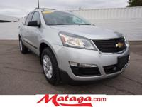 2015 Chevrolet Traverse LS in Silver Ice Metallic with