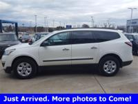 2015 Chevrolet Traverse LS AWD 6-Speed Automatic 3.6L