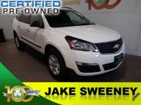 Our phenomenal One Owner 2015 Chevrolet Traverse LS on