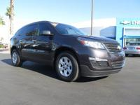 Look at this 2015 Chevrolet Traverse LS. Its Automatic