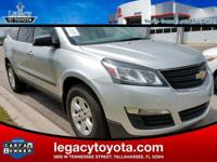 CARFAX One-Owner. Clean CARFAX. Traverse LS, 4D Sport