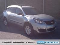 Chevrolet Traverse  CARFAX One-Owner. Odometer is 4348