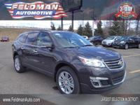 This 2015 Chevrolet Traverse LT... Features include: