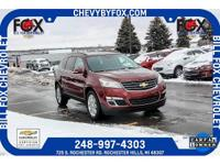 New Price! 2015 Chevrolet Certified. Traverse Siren Red
