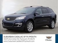 The Chevrolet Traverse is a fantastic large SUV for