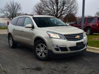 Tan 2015 Chevrolet Traverse LT Cloth 1LT AWD 6-Speed