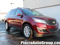 Red 2015 Chevrolet Traverse LT Cloth 1LT AWD 3.6L V6