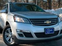 2015 Chevrolet Traverse, Silver Ice Metallic, One
