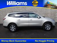 Options:  2015 Chevrolet Traverse Lt|White|Touch Screen