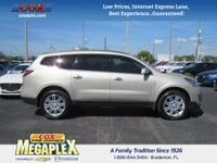 This 2015 Chevrolet Traverse LT in Gold is well