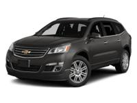2015 Chevrolet Traverse LT 1LT  Clean CARFAX.  Reviews: