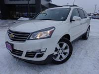 Options:  2015 Chevrolet Traverse Ltz|White|Clean