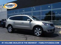 Check out this 2015 Chevrolet Traverse LTZ. Its