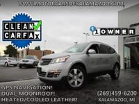 CARFAX One-Owner. Clean CARFAX.Black 2015 Chevrolet