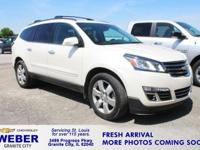 Recent Arrival! White Chevrolet Traverse **ANOTHER