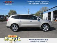 This 2015 Chevrolet Traverse LTZ in is well equipped