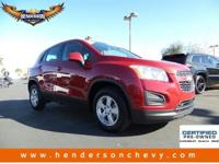 Look at this 2015 Chevrolet Trax LS. Its Automatic