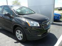 2015 Trax Chevrolet LS Black AWD 6-Speed Automatic