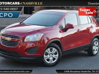 This 2015 Chevrolet Trax 4dr FWD 4dr LS with 1LS