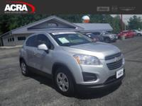 Used Chevrolet Trax, options include:  Keyless Entry,