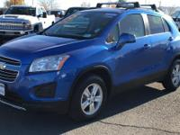 CARFAX One-Owner. Brilliant Blue Metallic 2015