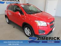 Options:  2015 Chevrolet Trax Awd 4Dr Lt|4 Cylinder