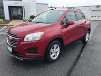 This outstanding example of a 2015 Chevrolet Trax LT is