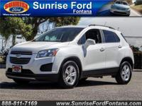 Tame the city with our 2015 Chevrolet Trax LT in Summit