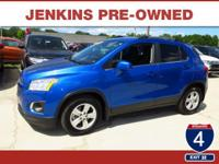 Low Miles! This 2015 Chevrolet Trax LT will sell fast
