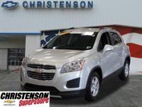 2015+Chevrolet+Trax+1LT+In+Silver+Ice+Metallic+*GM+CERT
