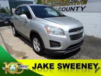 Tame the city with our 2015 Chevrolet Trax LT FWD in