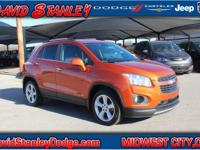 CARFAX One-Owner. Clean CARFAX. Orange 2015 Chevrolet