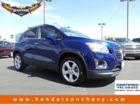 Check out this 2015 Chevrolet Trax LTZ. Its Automatic