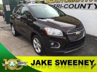 Tame the city with our 2015 Chevrolet Trax LTZ AWD in