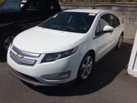 Certified. This 2015 Chevrolet Volt in Summit White