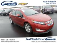 ONE OWNER CARFAX and Bluetooth for Phone. FWD, Red, and