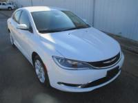 Check out this 2015 Chrysler 200 Limited. It has an