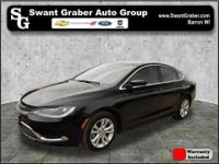 This 2015 Chrysler 200 Limited comes equipped with