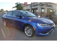 2015 Chrysler 200C AWD with 72k miles. Clean Carfax