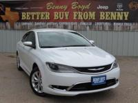 (512) 948-3430 ext.1689 This 2015 Chrysler 200 C Has a