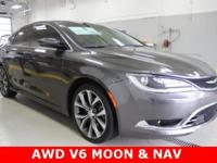 Look!! Sharp 2015 Chrysler 200C AWD V6!!! This AWD has