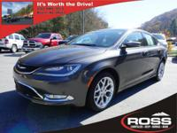 *PRICE REDUCED ON 03/05/2018 TO $16,995* 2015 CHRYSLER
