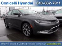 PREMIUM & KEY FEATURES ON THIS 2015 Chrysler 200